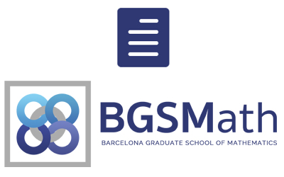 Resolution BGSMath doctoral positions