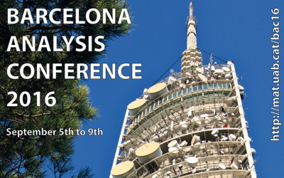 Barcelona Analysis Conference 2016 (BAC16)