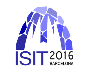 2016 IEEE International Symposium on Information Theory