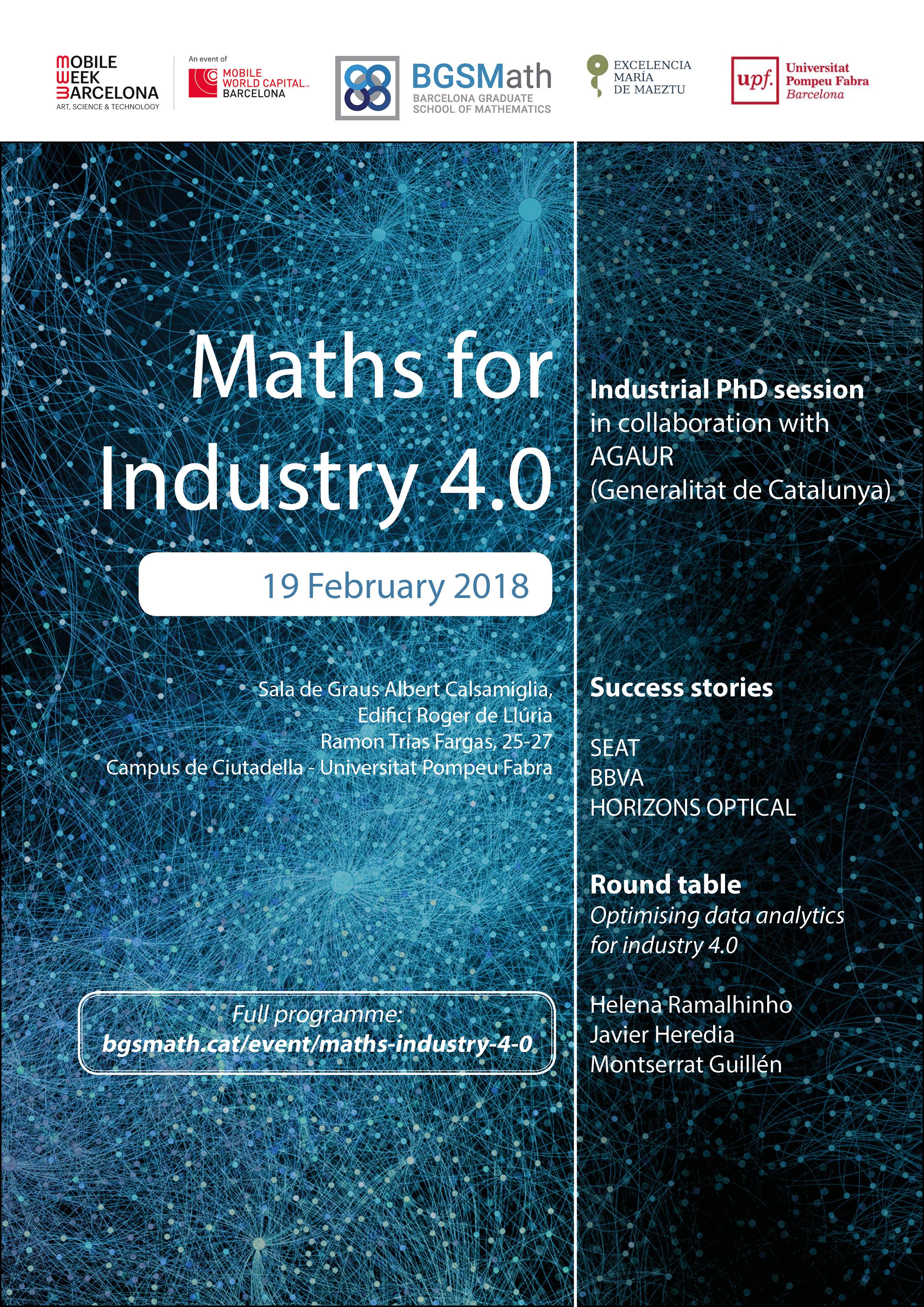 Maths for Industry 4.0 - BGSMath